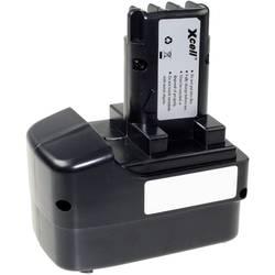 XCell 130287 električni alaT-akumulator Zamjenjuje originalnu akumul. bateriju Metabo 6.31729 12 V 3000 mAh NiMH