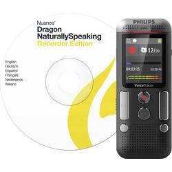 digitalni diktafon Philips DVT2710 Snemalni čas (maks.) 2280 h antracitna