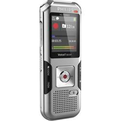 Digitalni diktafon Philips DVT4010 Snemalni čas (maks.) 2280 h Srebrno-siva