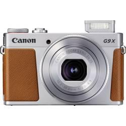 Digitalkamera Canon G9 X Mark II 20.9 MPix Silver Full HD Video, GPS, Bluetooth