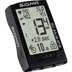 Kolesarski števec, brezžični Sigma BC 23.16 STS, kodiran prenos, z merilnikom utripa, s senzorjem pritiska