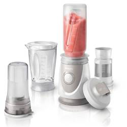 Blender za voćne napitke Daily Collection Philips mini mikser 350 W siva, bijela