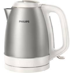 Vodni kuhalnik, brezžični Philips HD9305/00 iz nerdavečega jekla, bele barve
