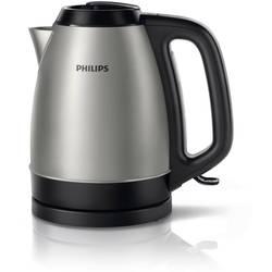 Vodni kuhalnik, brezžični Philips HD9305/20 iz nerdavečega jekla, črne barve