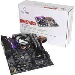 PC Tuning-Kit (Gaming) Intel Core i7 i7-7700K 4 x 4.2 GHz 16 GB Intel HD Graphics 630 ATX