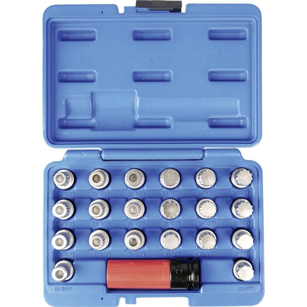 Rim lock-nøgle sæt BMW, 21-del, i bagagerummet Kunzer 1 stk