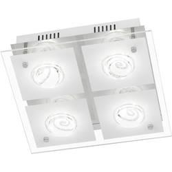 WOFI Tyra 9105.04.01.6300 LED stropna svetilka EEK: A (A++ - E) 16 W Topla bela Krom