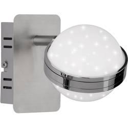 WOFI Monde 4241.01.54.6000 stenski LED-reflektor 6 W nikelj (mat), krom