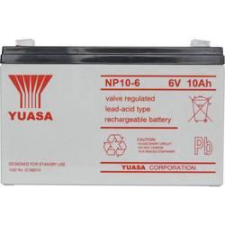 Olovni akumulator 6 V 10 Ah Yuasa NP10-6 NP10/6 Olovno-koprenasti (Š x V x d) 151 x 97.5 x 50 mm Plosnati priključak 4.8 mm Bez