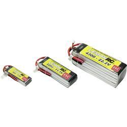 LemonRC LiPo akumulatorski paket za modele 14.8 V 2600 mAh Število celic: 4 35 C Mehka torba Odprt konec kabla