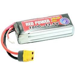 Red Power lipo akumulatorski paket za modele 11.1 V 1800 mAh Število celic: 3 25 C mehka torba odprt konec kabla