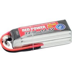 Red Power lipo akumulatorski paket za modele 14.8 V 2200 mAh Število celic: 4 25 C mehka torba odprt konec kabla