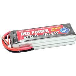 Red Power LiPo akumulatorski paket za modele 11.1 V 5500 mAh Število celic: 3 25 C Mehka torba Odprt konec kabla