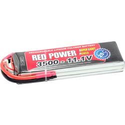 Red Power lipo akumulatorski paket za modele 11.1 V 3500 mAh Število celic: 3 25 C mehka torba odprt konec kabla