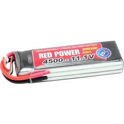 Red Power lipo akumulatorski paket za modele 11.1 V 4500 mAh Število celic: 3 25 C mehka torba odprt konec kabla