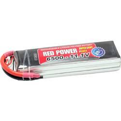 Red Power LiPo akumulatorski paket za modele 11.1 V 6500 mAh Število celic: 3 25 C Mehka torba Odprt konec kabla
