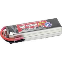 Red Power lipo akumulatorski paket za modele 14.8 V 6500 mAh Število celic: 4 25 C mehka torba odprt konec kabla