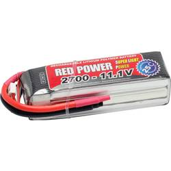 Red Power lipo akumulatorski paket za modele 11.1 V 2700 mAh Število celic: 3 25 C mehka torba odprt konec kabla