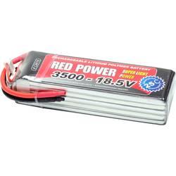 Red Power lipo akumulatorski paket za modele 18.5 V 3500 mAh Število celic: 5 25 C mehka torba odprt konec kabla