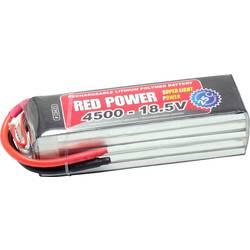 Red Power lipo akumulatorski paket za modele 18.5 V 4500 mAh Število celic: 5 25 C mehka torba odprt konec kabla