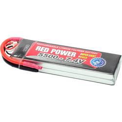 Red Power lipo akumulatorski paket za modele 7.4 V 5500 mAh Število celic: 2 25 C mehka torba odprt konec kabla