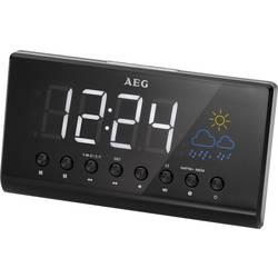 AEG MRC 4141 P radijska ura ukw črna
