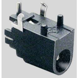 Lavspændingsstik Tilslutning, indbygning vandret 4 mm 1.3 mm BKL Electronic 1 stk