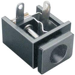 Lavspændingsstik Tilslutning, indbygning vandret 5.6 mm 2.5 mm BKL Electronic 1 stk