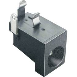 Lavspændingsstik Tilslutning, indbygning vandret 6.3 mm 2.1 mm BKL Electronic 1 stk
