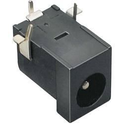 Niskonaponski konektor, utičnica, horizontalna ugradnja 6.3 mm 2.1 mm TRU Components 1 kom.