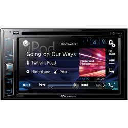 Dobbelt-DIN Moniceiver Pioneer AVH-X390BT Tilslutning til bagkamera, Tilslutning til ratbetjening, Håndfrit Bluetooth®-system, A
