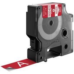 Pisalni trak DYMO IND RHINO 1805422 iz vinila, trak: rdeče barve, barva pisave: bela 19 mm 5.5 m