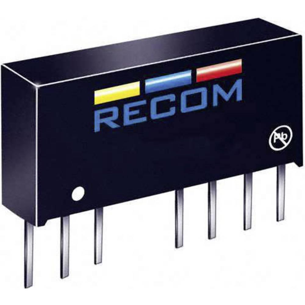 DC/DC pretvornik LE RS-0512D/H3 SIP-8-modul RCM