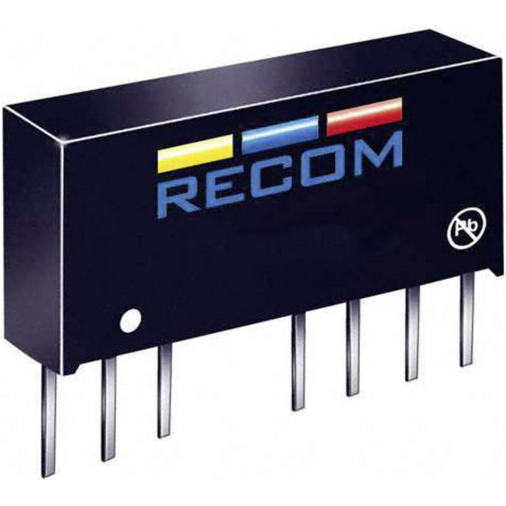 DC/DC pretvornik LE RS-1212S/H3 SIP-8-modul RCM