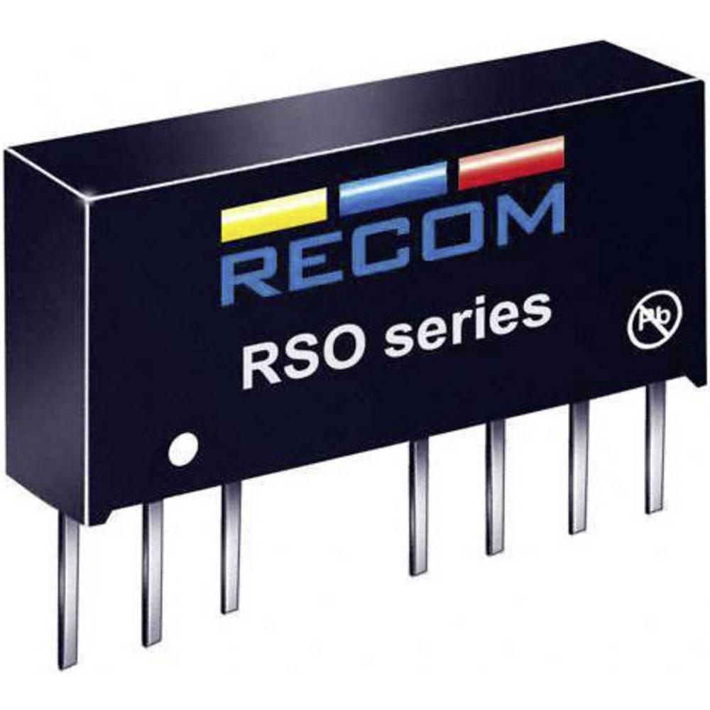 DC/DC pretvornik RSO-1215D SIP-8-modul RCM