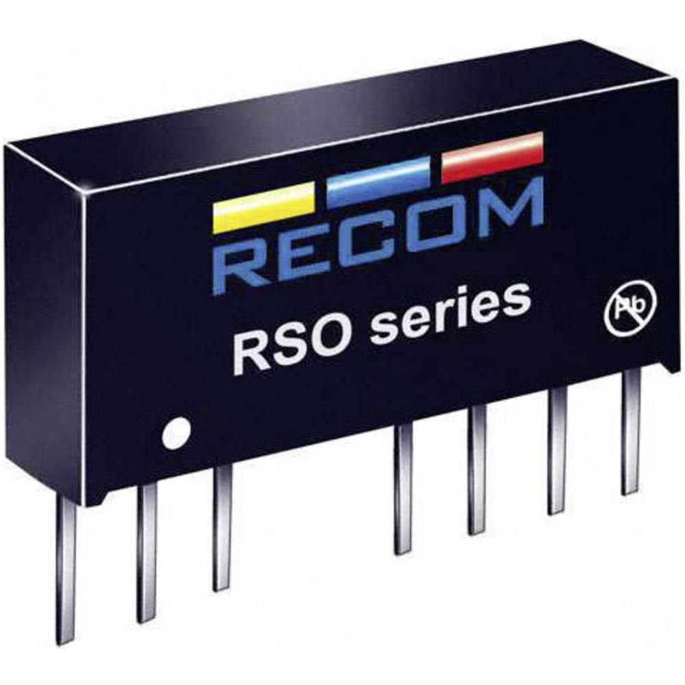 DC/DC pretvornik RSO-2405SZ/H2 SIP-8-modul RCM