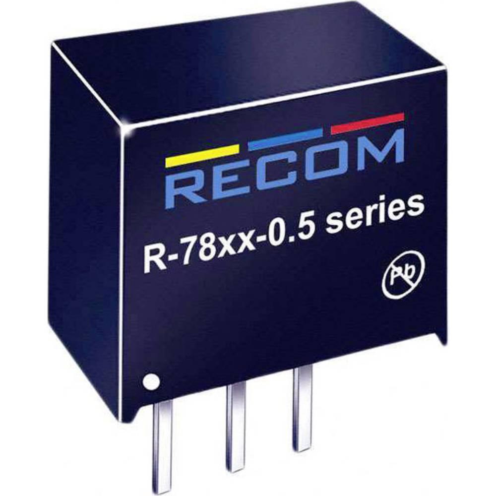 DC/DC pretvornik LE R-782.5-0.5 SIP-3-modul RCM