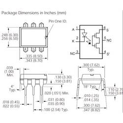 SOLID-STATE relej LH1540-AT Infineon LH1540AT Vishay
