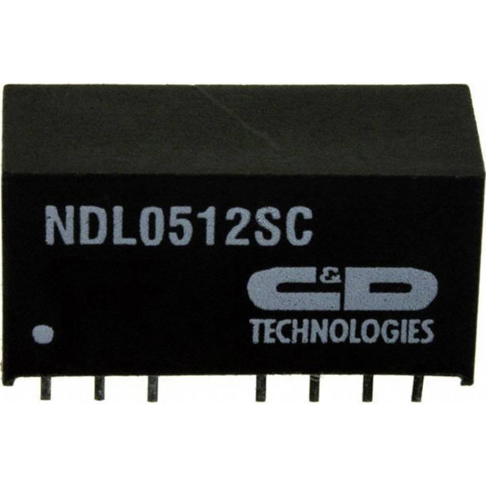 DC/DC pretvornik NDL0512SC SIP-8-modul muRata