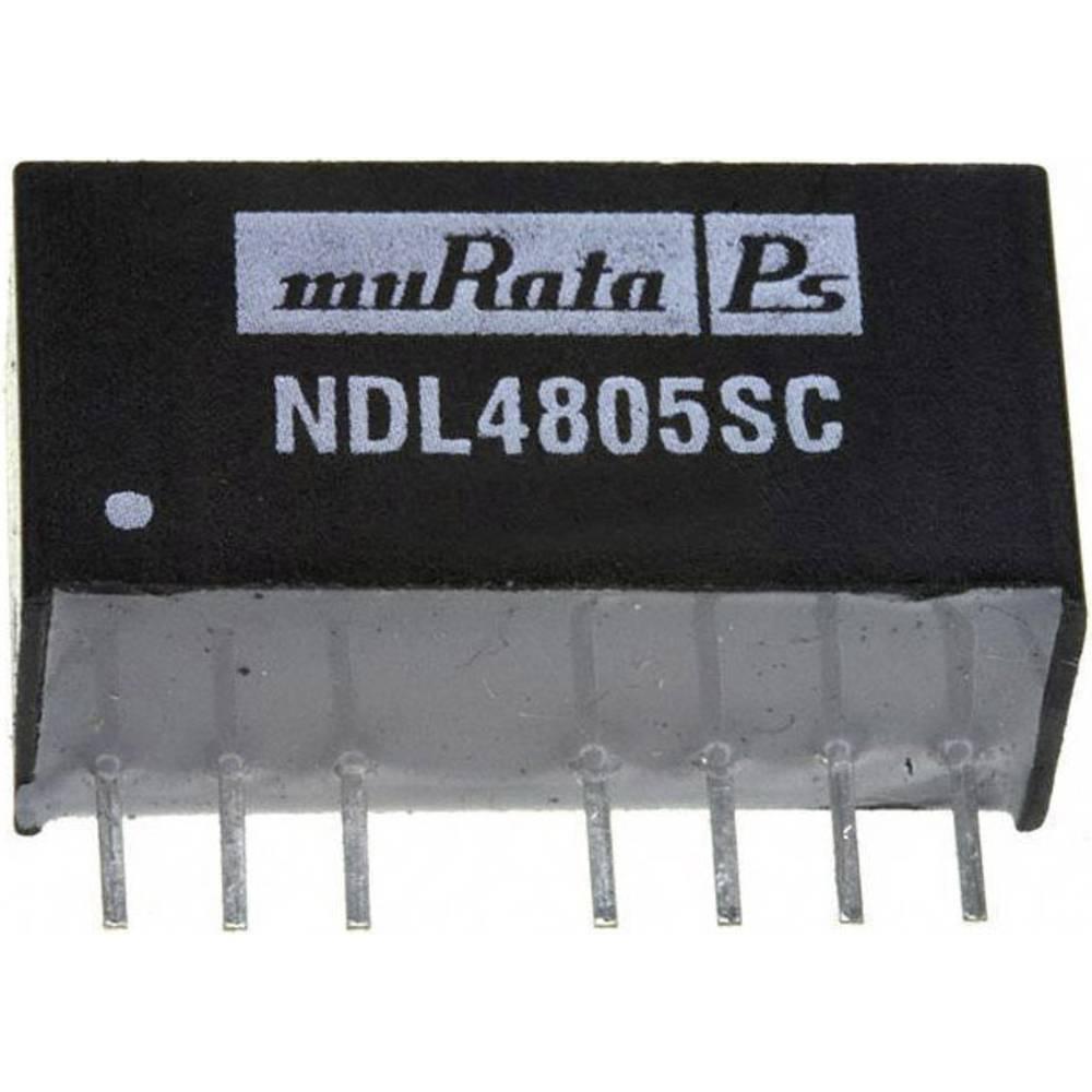 DC/DC pretvornik NDL4805SC SIP-8-modul muRata