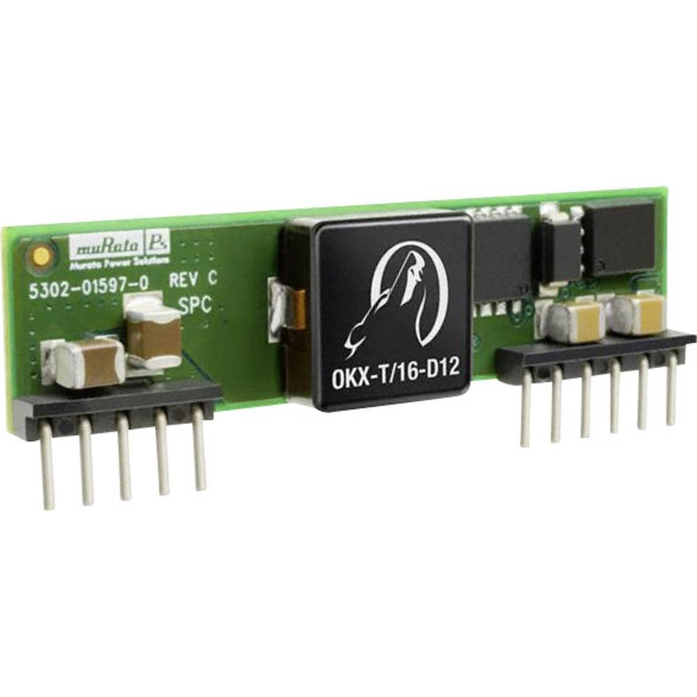 DC/DC pretvornik OKX-T/16-D12P-C SIP-11-modul muRata