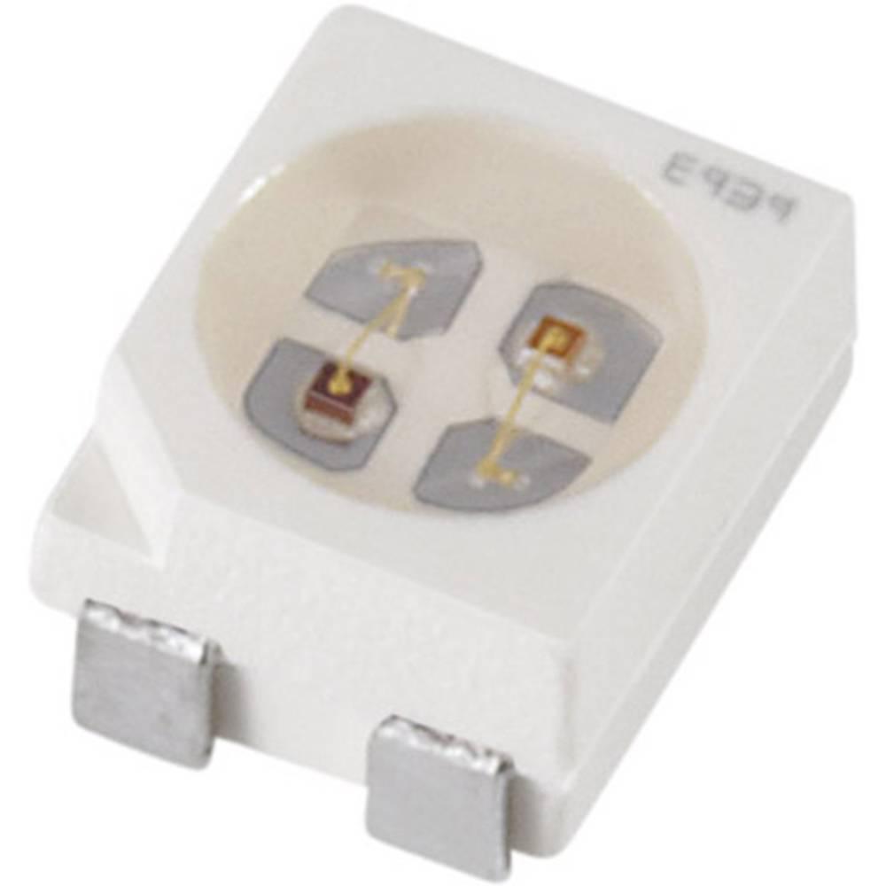 SMD-LED višebojna PLCC4 crvena, zelena 8 mcd, 10 mcd 120 ° 10 mA OSRAM LSG T670