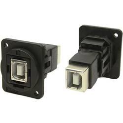 Cliff USB 2.0 kontakt hona B Svart 1 st