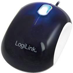 LogiLink ID0095A Cooper USB miš Optički Crna, Bijela