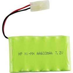 Modelarstvo - akumulatorski paket (NiMh) 7.2 V 600 mAh Conrad energy Side by Side Tamiya-vtič