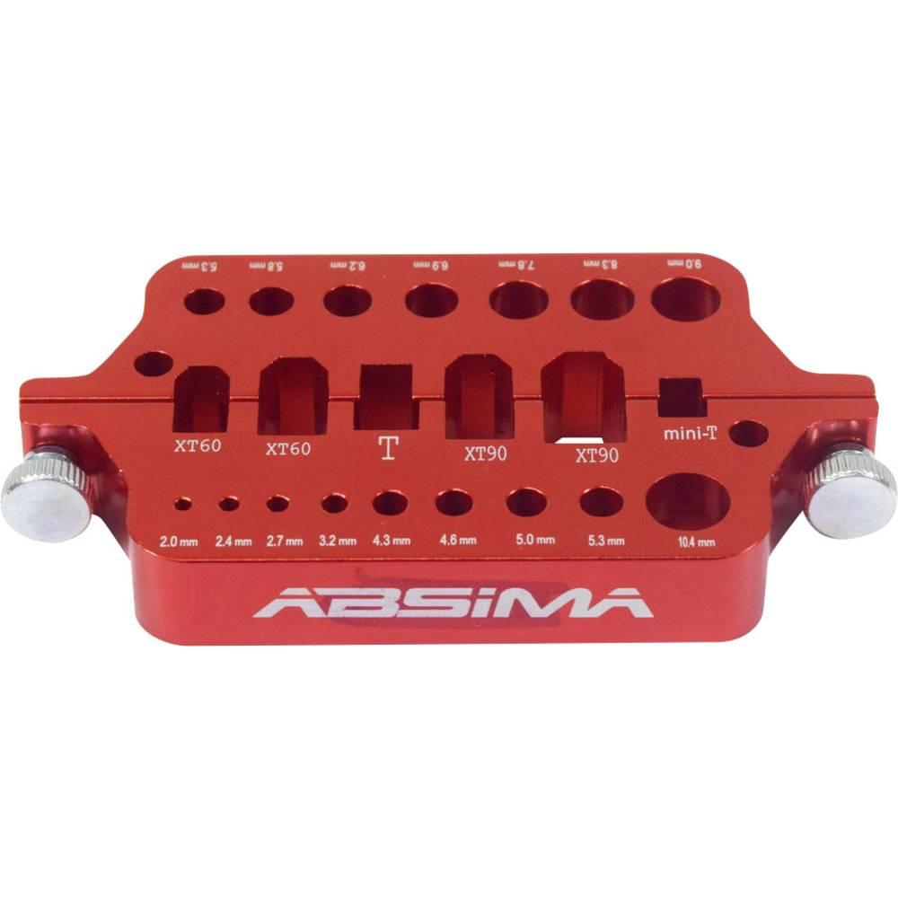 Pripomoček za spajkanje za vtič akumulatorja (D x Š x V) 110 x 60 x 15 mm Absima