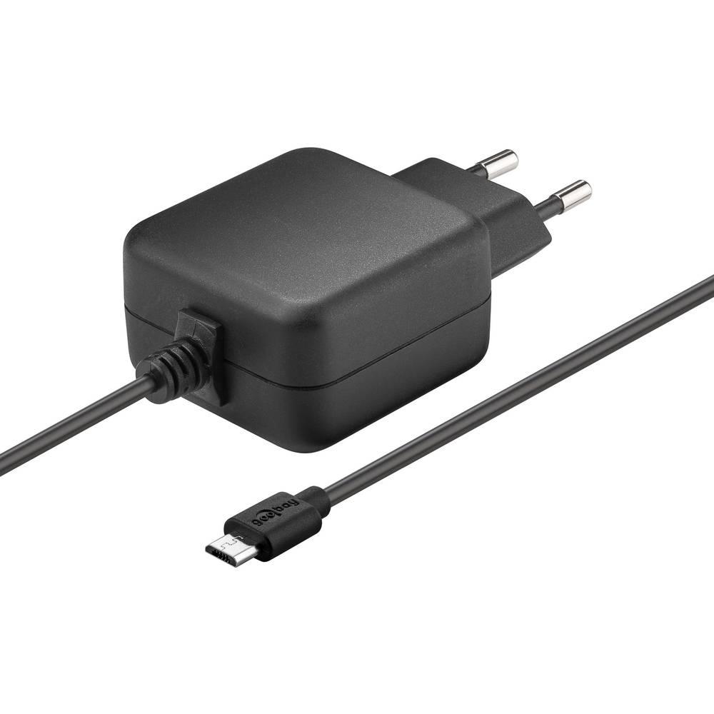 USB-polnilna naprava za v vtičnico Goobay 56746 izhodna napetost (maks.) 3.1 A 1 x USB 2.0 vtič Micro-B