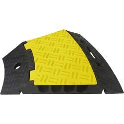 VISO kabelski mostiček črna, rumena Kanali (število): 4 500 mm Vsebina: 1 kos