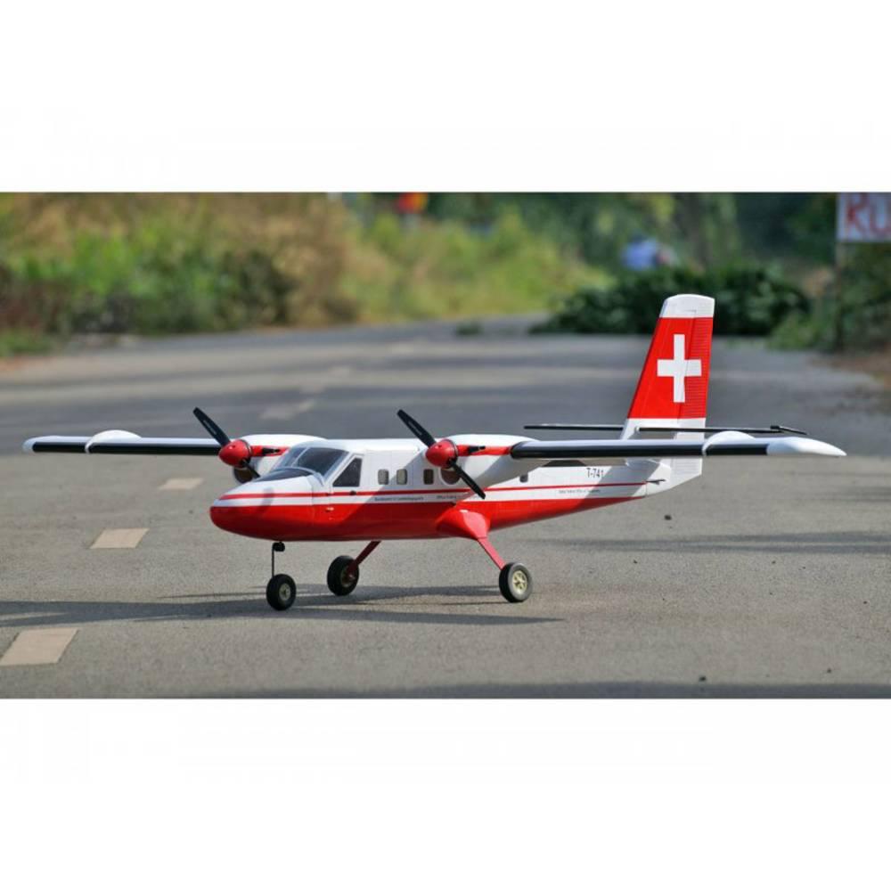 VQ Twin Otter Swiss RC Model motornega letala ARF 1875 mm