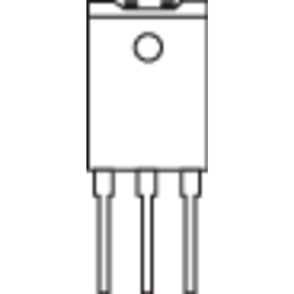Tranzistor tip BU NXP BU 2727AF NPN kućište SOT 199I(c) 12A NXP Semiconductors